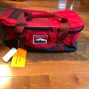Marlboro duffel cooler bag. NWT. Advertising piece